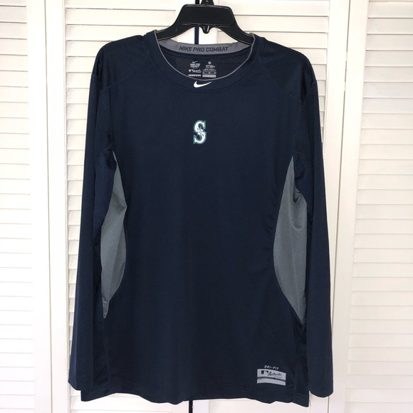 a615d374 Nike MLB Shirts | Seattle Mariners Nike Drifit Long Sleeve Shirt ...